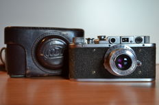Fed -  Soviet Camera USSR in a leather case