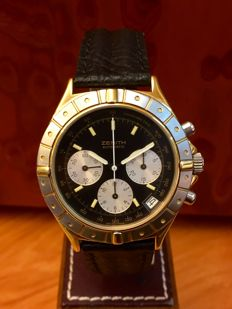 Zenith El Primero Clipper. Automatic chronograph. Men's watch. Year 2005