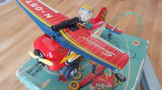 Modern Toys, Japan - Length 20 cm. - N-057 Swallow Loop Plane, 1950s