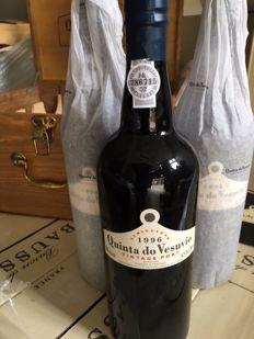 1996 Vintage Port Quinta do Vesuvio - 3 bottles 0,75l