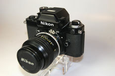 Nikon F2AS body + Nikkor f=105mm 1:2.5