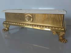 Gianni Versace - Table piece in gold-plated bronze