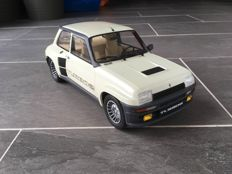 Otto Mobile - Scale 1/12 - Renault 5 Turbo 2 - White