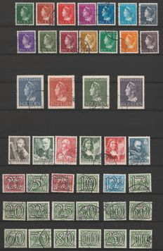 Netherlands 1940/1946 – Collection of war years – NVPH 356 through 442 complete