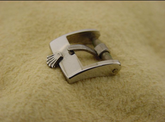 ROLEX 80s Watch Buckle 10 mm ID stainless steel --- No Reserve Price