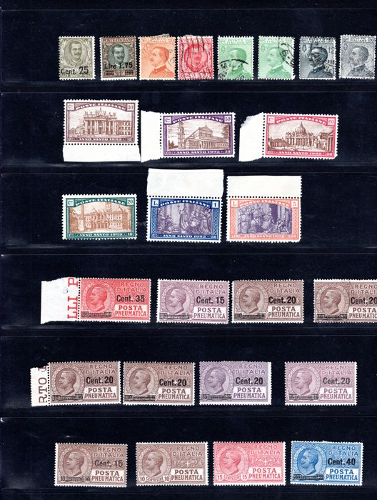 Italy Repubblica 1923-1929 - Set/series completed