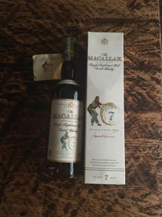 Macallan 7 years old sherry oak