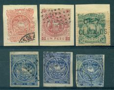 South America - Large collection of 2430 stamps