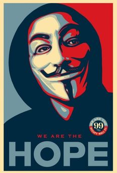 Shepard Fairey (OBEY) - Occupy Hope