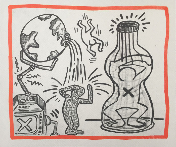 Keith Haring - Planet Earth
