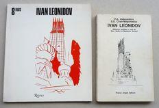Ivan Leonidov - Lot of 2 publications concerning this Russian architect - 1978 / 1981