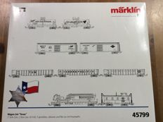 "Märklin H0 - 45799 - Complete and exclusive set ""150 years Texas"" with 4 sets of the American Railways. (1601)"
