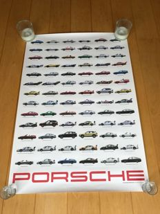 International collectors day 2011 Porsche Poster limited edition - 100 x 70 cm