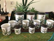Villeroy and Boch 11 storage pots Botanica