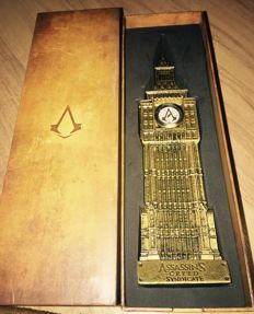 Rare Assassins Creed Syndicate Big Ben Statue