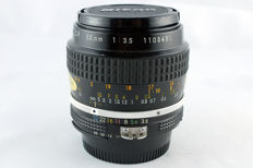 Nikon AI Micro-Nikkor 55mm F3.5 for Macro photography