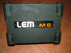 Amplified Lem M6 spy speaker - very powerful - from the 70s - for stage musicians and not