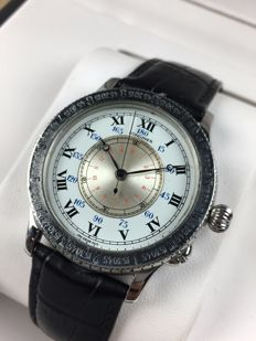 Longines Lindbergh Hour Angle automatic reference: 989.5215 – men's watch