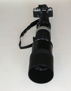Nikkor-P Auto 1:5.6 f=600mm + Focus Unit