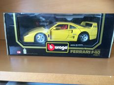 Bburago - Scale 1/18 - Lot with 6 Models: 6 x Ferrari