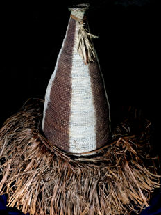 Spirits dance costume - Yipae - Central ASMAT - West Papua