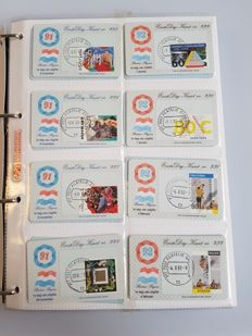 The Netherlands, 1954-2007 – collection of first day covers and first day cars
