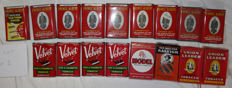lot of 17 boxes and U.S. packets