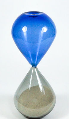 De My Giuliano - blue and grey incalmo hourglass