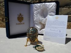Authentic Fabergé Imperial Egg - Hand signed by Tatiana Faberge (Rare !!!) - Private Collection - Swarovski Rhinestones -  24k Gold finish.