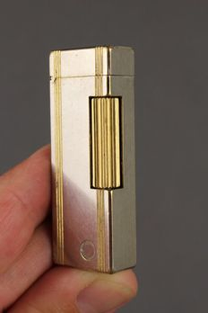 Dunhill lighter - Silver/Gold plated