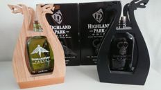 2 bottles - Highland Park Freya and Odin
