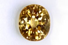 Yellow Zircon – 2.42 ct