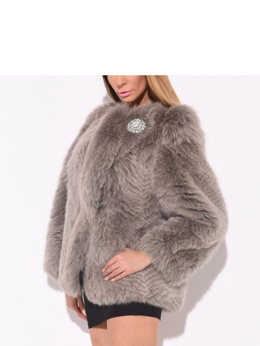 Fox fur - Women's jacket
