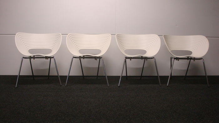 Ron Arad for Vitra – set of 4 chairs, model Tom Vac