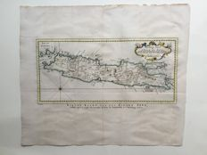 Java, East Indies; J.V. Schley - Nouvelle Carte De L'Isle De Java - 1757