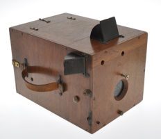 Delta Krugener early wood detective camera Big Size (Ultrarare) 13x18cm