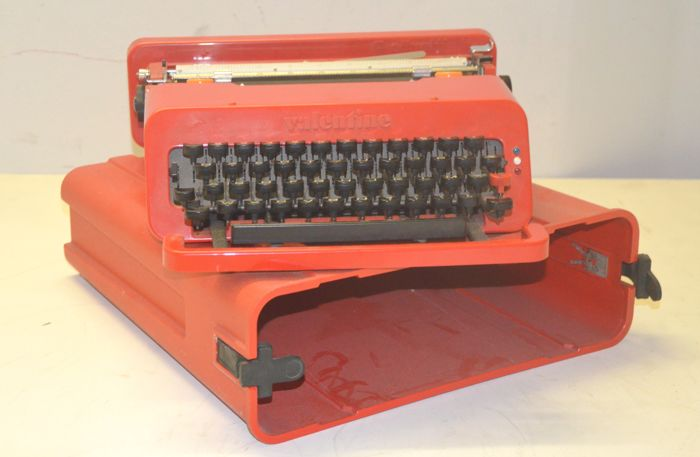 Ettore Sottsass And Perry A. King For Olivetti U2013 U0027Valentineu0027 Typewriter.