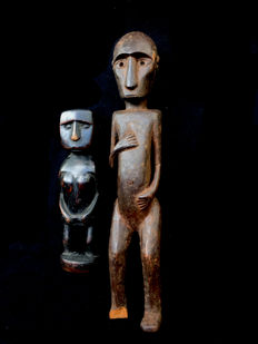 Two ancestor figures - SUMBA  - Indonesia