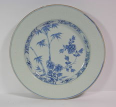 Porcelain plates - China - 18th century.