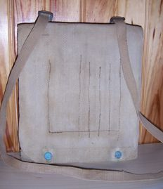 Bag map holder WW2 from French officer of the second world war