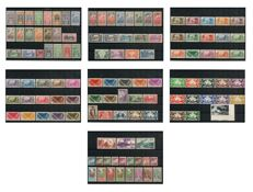 Oceania 1913/1939 - collection of stamps, mail + airmail + duty