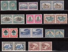 South Africa 1926/1952 – Selection of common card