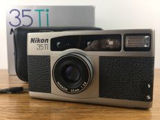 Nikon 35Ti 35mm Camera + Original Case-from Japan