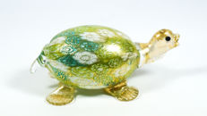 Livio Campanella (Campanella) - Murrina and Gold Turtle Sculpture