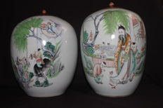 Two antique pots - China - Early 20th century (Republic period)