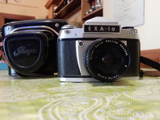 EXA 1A camera with MEYER GORLITZ LYDITH 3.5/30 lens - with the original case