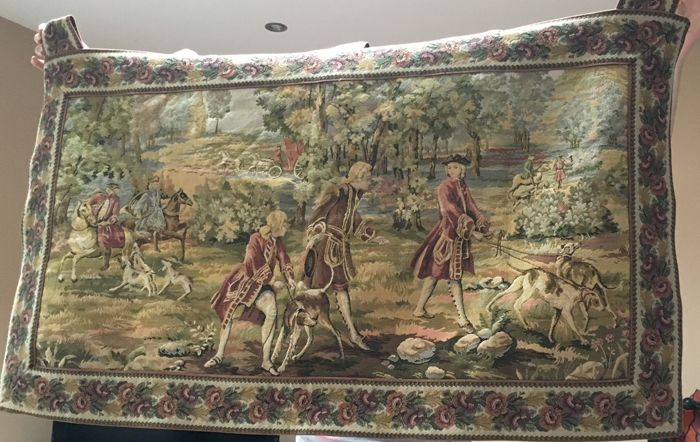 Louis XV Hunting Tapestry