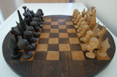 Ancient African tribal chess