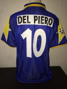 Alex Del Piero / Juventus - Champions League Final shirt 1996 vs Ajax.