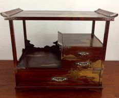 Miniature lacquer work cabinet – Japan – around 1890